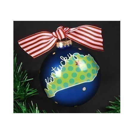 COTON COLORS KENTUCKY STATE ORNAMENT Thumbnail