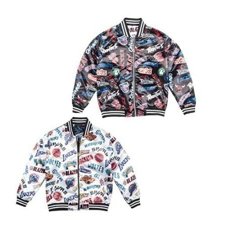 MENS NBA ALL-OVER EAST/WEST REV JACKET Thumbnail
