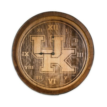 KENTUCKY BARRELHEAD CLOCK Thumbnail