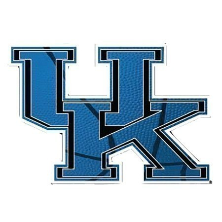 KENTUCKY BASKETBALL CAR DECAL 3.5