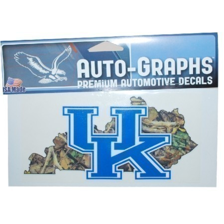 KENTUCKY STATE CAMO DECAL 3.5