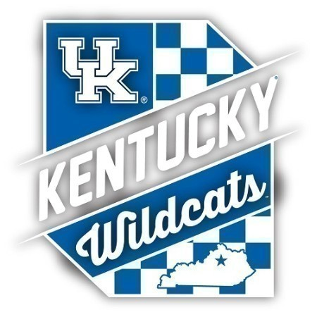 KENTUCKY CHECKERBOARD DECAL Thumbnail