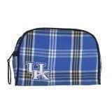 KENTUCKY PLAID SMALL COSMETIC BAG Thumbnail