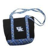 KENTUCKY PLAID SMALL CANVAS TOTE Thumbnail