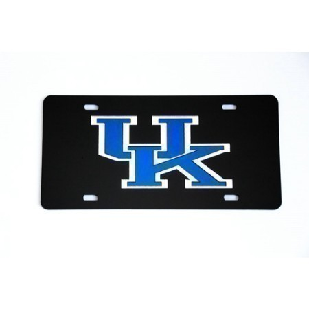 UK LOGO BLACK PLATE Thumbnail