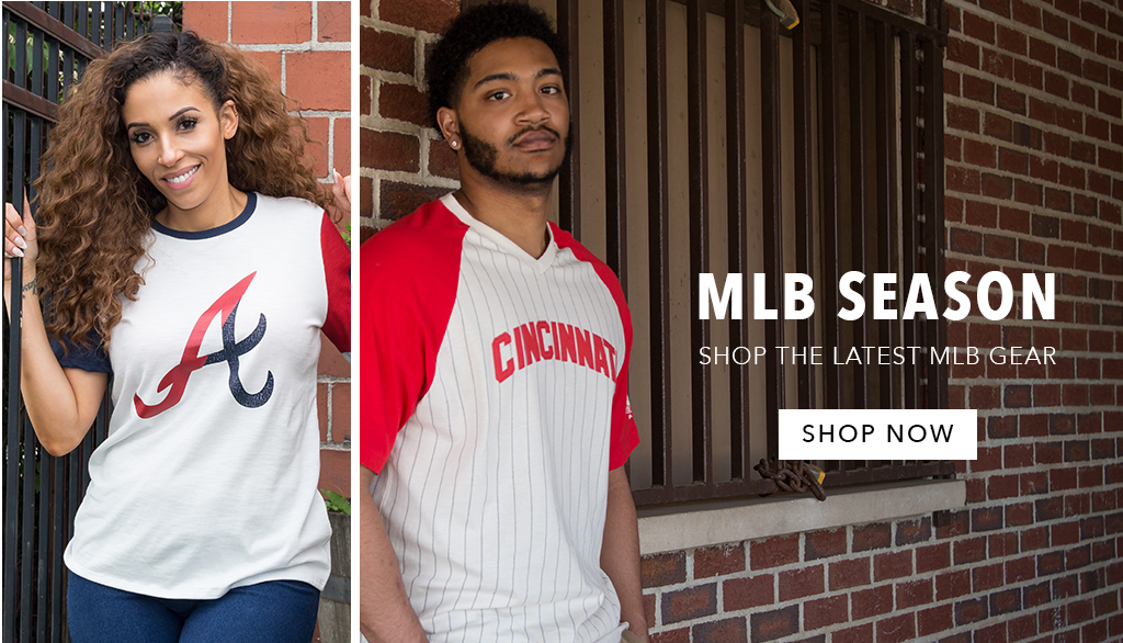 Cheer on your favorite MLB team in the latest Nike apparel