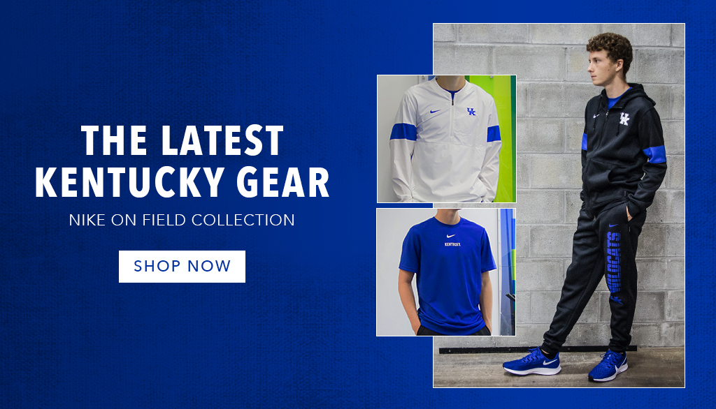 Men's Nike Kentucky On-Field Collection is Now In Stock!