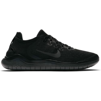 Nike Free RN 2018 Womens 942837-002 Black Anthracite Knit Running Shoes Size 9.5