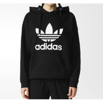low price free delivery excellent quality LADIES ADIDAS TREFOIL HOODIE WOMENS APPAREL   Kentucky