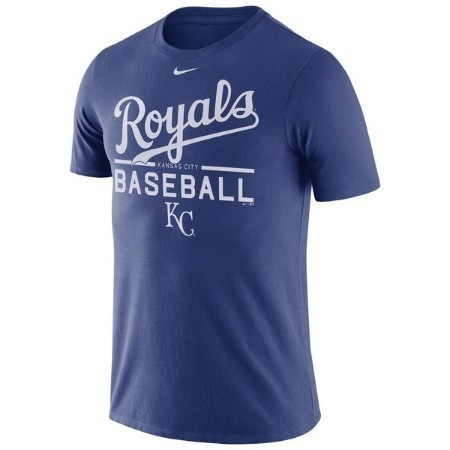 KANSAS CITY ROYALS NIKE MENS PRACTICE TEE Thumbnail