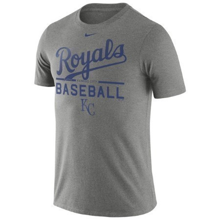 KANSAS CITY ROYALS MENS PRACTICE TEE Thumbnail