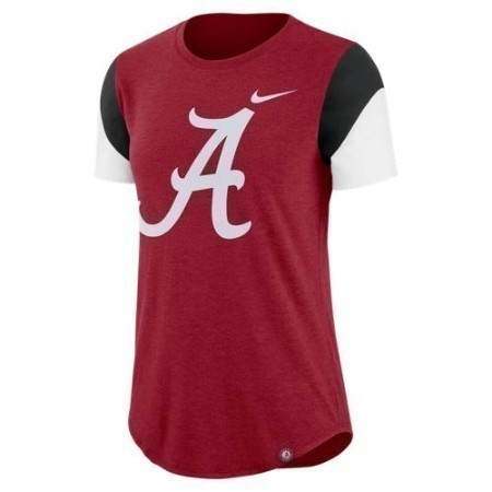 LADIES ALABAMA NIKE TRIBLEND FAN CREW Thumbnail
