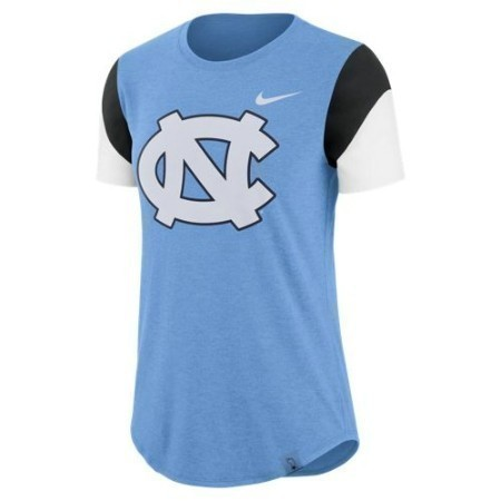 LADIES NORTH CAROLINA NIKE TRIBLEND FAN CREW Thumbnail