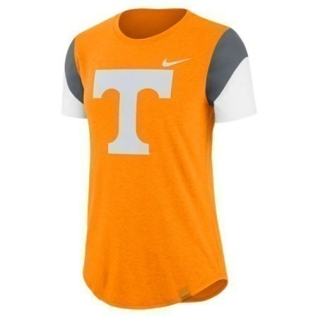 LADIES TENNESSEE NIKE TRIBLEND FAN CREW Thumbnail