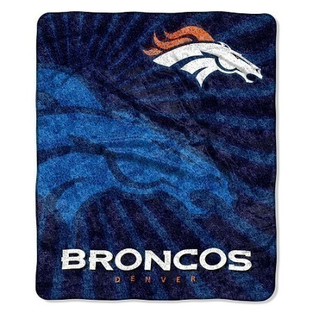 NFL BRONCOS SHERPA THROW 50X60 Thumbnail