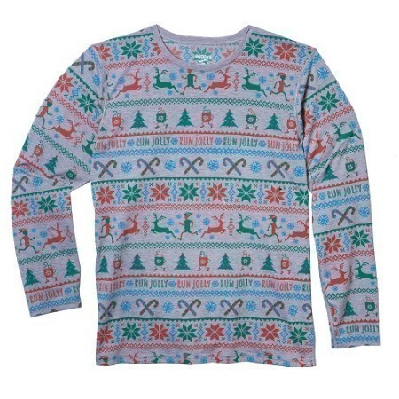 MENS BROOKS UGLY SWEATER LONG SLEEVE TOP Thumbnail