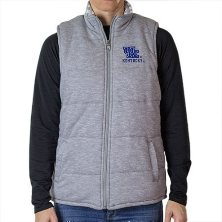 LADIES KENTUCKY REVERSIBLE VEST OUTER18 Thumbnail