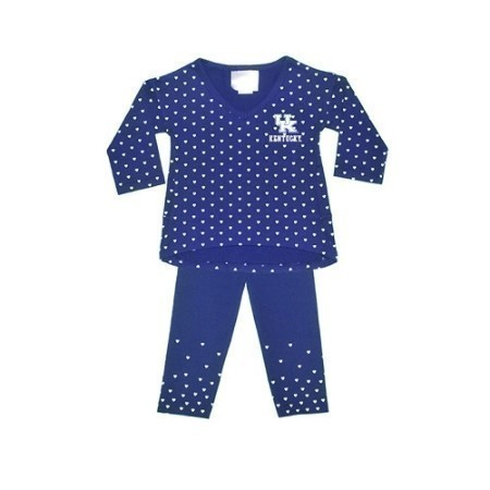 TODDLER KENTUCKY HEART SHIRT/PANT SET Thumbnail