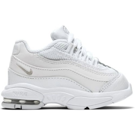 TODDLER NIKE AIR MAX '95 WHT/WHT/PLAT Thumbnail