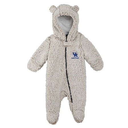 TODDLER KENTUCKY TEDDY FLEECE ONESIE  Thumbnail