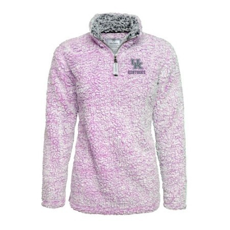 LADIES KENTUCKY POODLE 1/2 ZIP PULLOVER Thumbnail