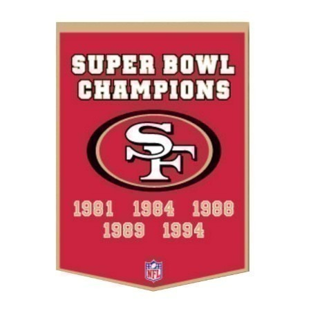 49'ERS DYNASTY BANNER Thumbnail