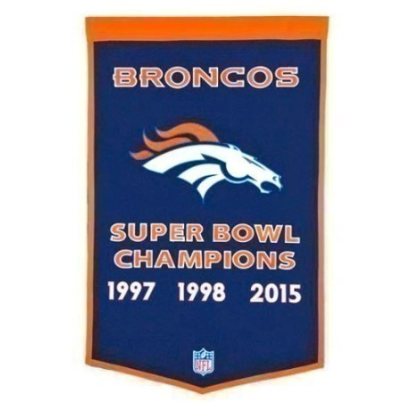 BRONCOS DYNASTY BANNERS  Thumbnail
