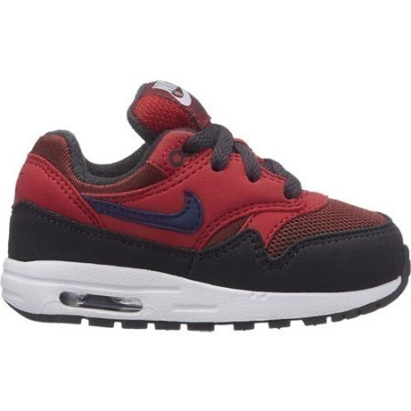 TODDLER NIKE AIR MAX 1 ROUGH RED/NVY/RED Thumbnail