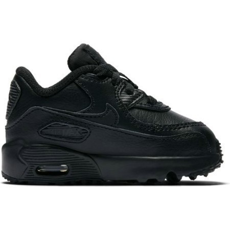 TODDLER NIKE AIR MAX '90 LEA BLK/BLK Thumbnail