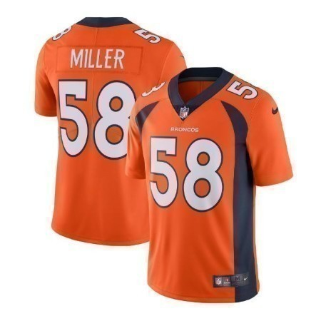MENS BRONCOS NIKE MILLER LIMITED JERSE Thumbnail