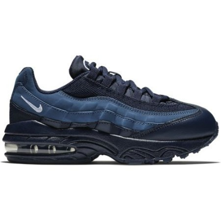 PRESCHOOL NIKE AIR MAX '95 BLACKENED BLU/W Thumbnail