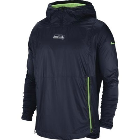 MENS SEAHAWKS NIKE JACKET ALPHA FLY RUSH Thumbnail
