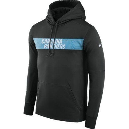 MENS PANTHERS NIKE THERMA HOODIE Thumbnail
