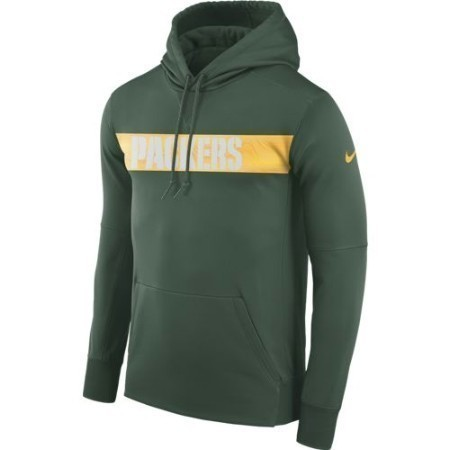 MENS PACKERS NIKE THERMA HOODIE Thumbnail