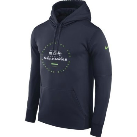 MENS SEAHAWKS NIKE PROPERTY OF THERMA HOOD Thumbnail