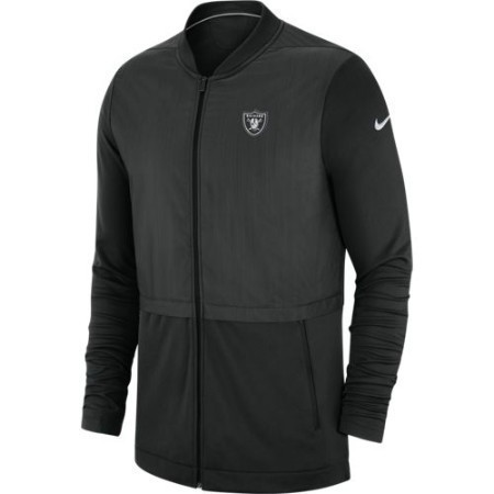 MENS RAIDERS NIKE JACKET FZ ELITE HYBRID Thumbnail