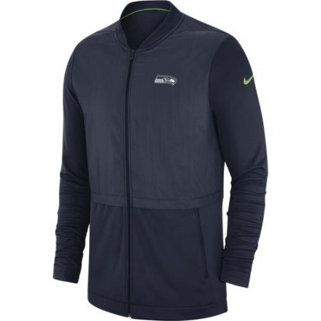 MENS SEAHAWKS NIKE JACKET FZ ELITE HYBRID Thumbnail