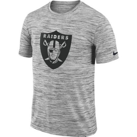 MENS RAIDERS NIKE VELOCITY TRAVEL TEE Thumbnail