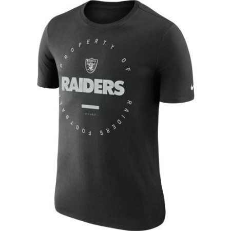 MENS RAIDERS NIKE PROPERTY OF TEE Thumbnail