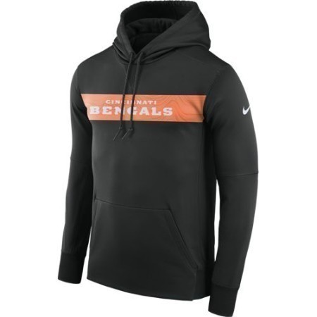 YOUTH BENGALS NIKE THERMA HOODIE PO Thumbnail
