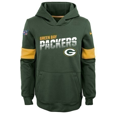 YOUTH PACKERS NIKE THERMA HOODIE Thumbnail