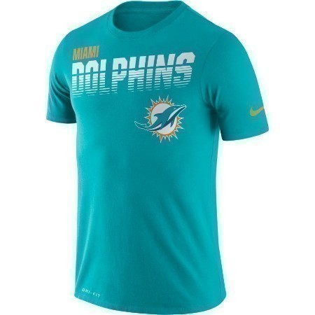 YOUTH DOLPHINS NIKE SIDELINE TEE Thumbnail