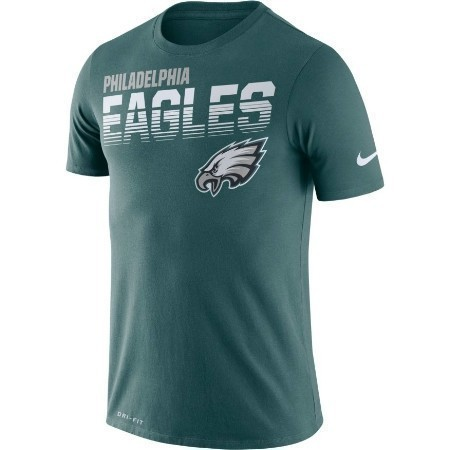 YOUTH EAGLES NIKE SIDELINE TEE  Thumbnail