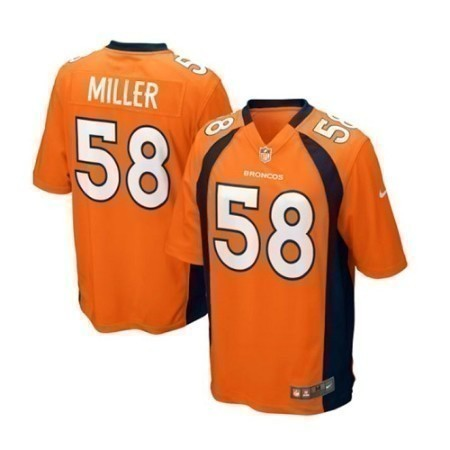 YOUTH BRONCOS NIKE MILLER GAME JERSEY Thumbnail