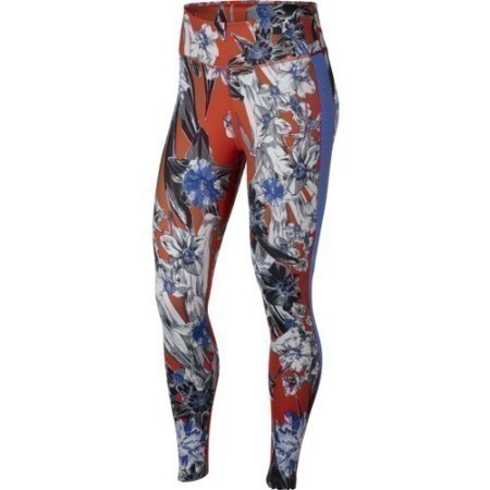 LADIES NIKE ALL IN ONE PRINT TRAINING TIGHT  Thumbnail