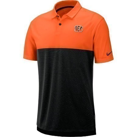 MENS BENGALS NIKE BREATHE POLO 2 Thumbnail