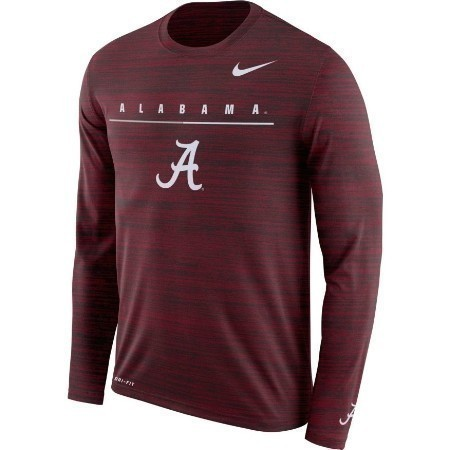 MENS ALABAMA NIKE VELOCITY TRAVEL TEE Thumbnail
