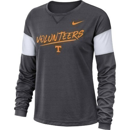 LADIES TENNESSEE NIKE BREATHE TOP Thumbnail