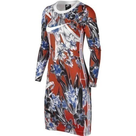 LADIES NIKE SPORTSWEAR FLORAL DRESS Thumbnail