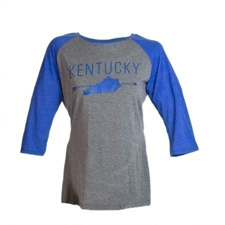 LADIES KENTUCKY ARROW STATE TEE Thumbnail